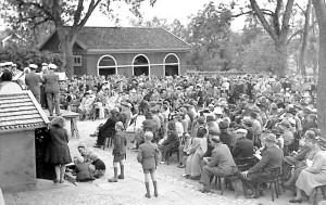 Invigning Väsby museum 1946